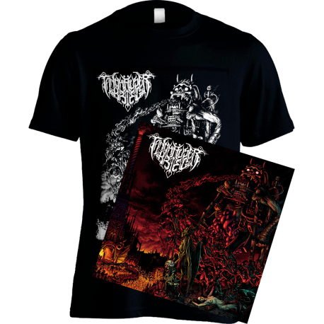 "Demonic Acquisitions In The Kingdom Of The Cursed 10"" + T-shirt bundle"